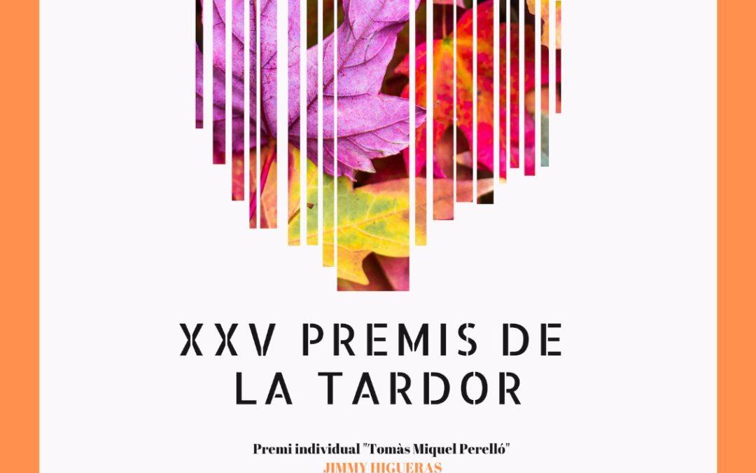 XXV Premis de Tardor – Miquel Pérez y Maria Moreno