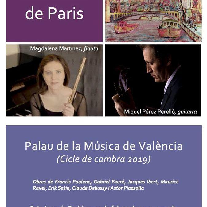 """Souvenir de Paris""- Palau de la Música de Valencia"""
