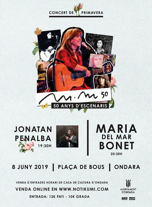 Concierto de Primavera- Jonatan Penalba & Maria del Mar Bonet